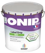 Peintures depolluante Label Onip Clean'R