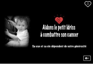 Campagne GoFundMe pour sauver un bébé atteint d'un cancer rare