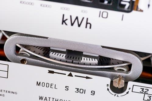 mise en service compteur electricite